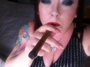 1fuckdatecom Cigar smoking bbw fetish smoke