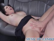 Big tit milf fucks on bus