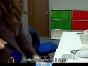 Subtitles - Boss fucked her japanese secretar