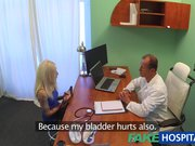 Fake Hospital Tattooed Blonde Loves Doctors Dick