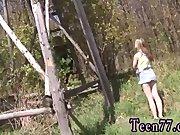 Teen 02 and cute teen public creampie Abby