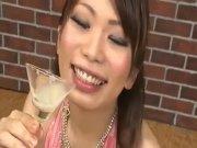 DRINKERS SEMEN Hikari Hino