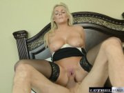 British MILF Katy fucks her way to a carloan from her stepbro