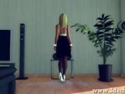 3DXChat Threesome Female Menage