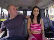 Latina Go Getter Vienna Black Gets What She Deserves on the BangBus!