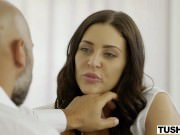 Gracie Glam Takes Anal From Older Guy
