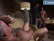 Jury Duty: Scene 2  Roman Wright and Dirk Caber