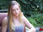 First Black Cock Experience - Sadie Blair