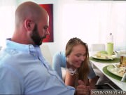 Redhead partner's daughter learns anal and