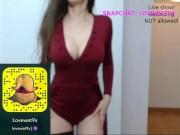 Teen show-My Snapchat: LoveWet9x