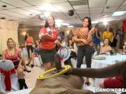 Big Dick Male Strippers and a Fluffy Dancing Bear Entertaining Women
