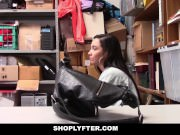 Shoplyfter -Teen thief Karlee Grey forced to strip and fuck to avoid jail