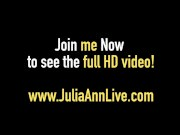 Mega Milf Julia Ann & Jessica Jaymes - Double BlowJob & Cum!