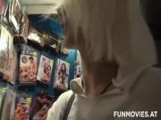 Slut In A Sex Shop