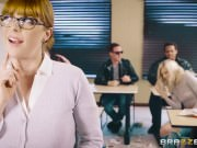 Brazzers - Stay after class to please the sub