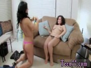 Lesbian black girls on couch Naughty lady