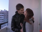 18videoz - Rina - Hot casual fuck in a hallway