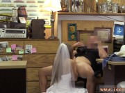 Big tits pink pussy first time A bride's