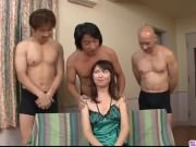 Naho Kojima gets several men to fuck her hard