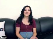 BANG Casting - Teenage slut with braces Karly Baker gets fucked hard