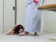Slut gets punished gangbang Training my