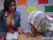 Arab cam masturbating BJ Lessons with Mia